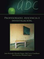 Profesorado, Docencia E Investigación.