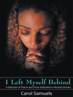 I Left Myself Behind