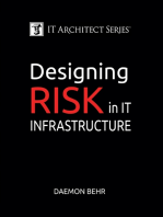IT Architect Series: Designing Risk in IT Infrastructure