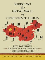 Piercing the Great Wall of Corporate China: How to Perform Forensic Due Diligence on Chinese Companies