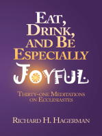 Eat, Drink, and Be Especially Joyful