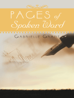Pages of Spoken Word