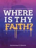 Where Is Thy Faith?