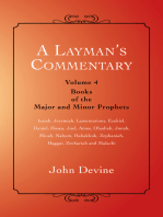 A Layman'S Commentary Volume 4