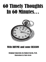 60 Timely Thoughts in 60 Minutes…