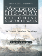 A Population History of Colonial New South Wales