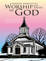 A Personal Approach to Worship and Faith in God
