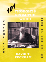 101 Thoughts from the Word:Volume Five