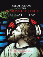 Meditation on the Words of Jesus in Matthew