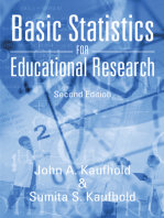 Basic Statistics for Educational Research: Second Edition