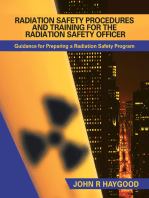 Radiation Safety Procedures and Training for the Radiation Safety Officer