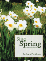 Sing Spring and Other Poems
