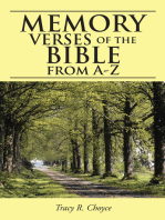 Memory Verses of the Bible from A-Z