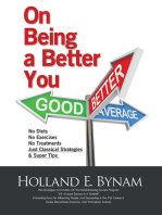 On Being a Better You