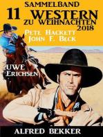 Sammelband 11 Western zu Weihnachten 2018