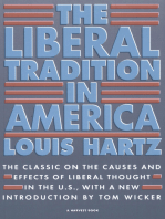 The Liberal Tradition in America: The Classic on the Causes and Effects of Liberal Thought in the U.S.