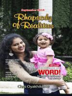 Rhapsody of Realities September 2018 Edition