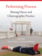 Performing Process: Sharing Dance and Choreographic Practice