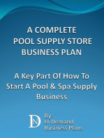 A Complete Pool Supply Store Business Plan