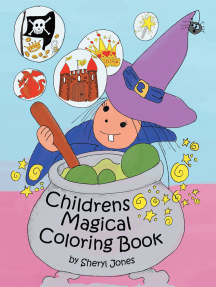Childrens Magical Colouring Book