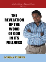 The Revelation of the Word of God in Its Fullness