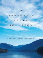 Abraham'S Saner Solution