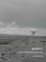Punto.: Poems with Time Running Out