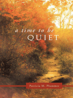 A Time to Be Quiet