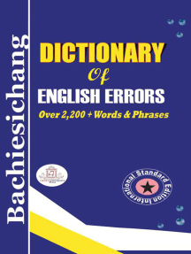 Bachiesichang Dictionary of English Errors