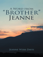 "A Word from ""Brother"" Jeanne"