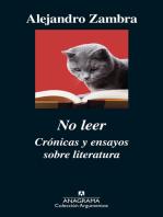 No leer