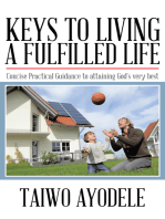 Keys to Living a Fulfilled Life