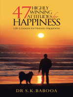 47 Highly Winning Attitudes for Happiness
