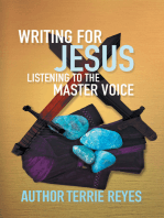 Writing for Jesus