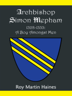 Archbishop Simon Mepham 1328-1333: a Boy Amongst Men