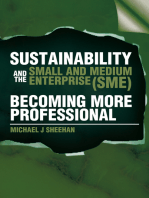 Sustainability and the Small and Medium Enterprise (Sme)