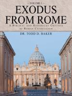Exodus from Rome Volume 1