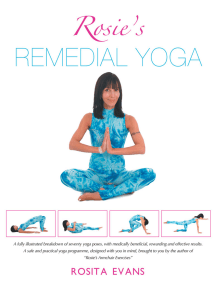 Rosie's Remedial Yoga (Full Color Edition)