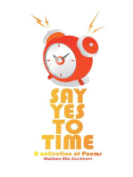 Say Yes to Time