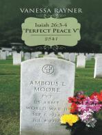 "Isaiah 26:3-4 ""Perfect Peace V"""
