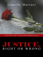 Justice, Right or Wrong
