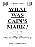 What Was Cain's Mark?