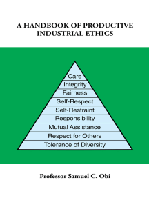 A Handbook of Productive Industrial Ethics
