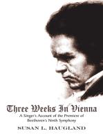 Three Weeks in Vienna
