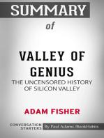 Summary of Valley of Genius
