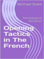 Chess Opening Tactics - The French - Advance Variation