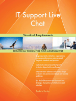 IT Support Live Chat Standard Requirements