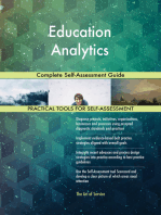 Education Analytics Complete Self-Assessment Guide
