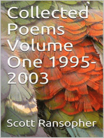 Collected Poems Volume One 1995-2003