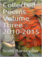 Collected Poems Volume Three 2010-2015